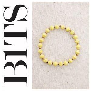 FREE w/purchase* NWOT Yellow Daphne Bracelet